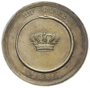 Fryderyk Wilhelm III, medal sygnowany STIERLE wybity w ...