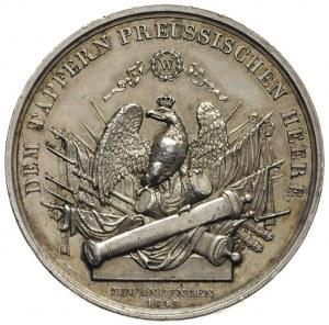 Fryderyk Wilhelm IV, medal niesygnowany wybity ku czci ...