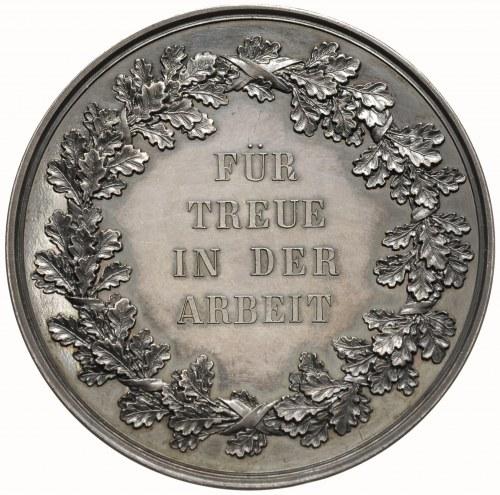 Albert, medal nagrodowy sygnowany M BARDULECK FEC, Aw: ...