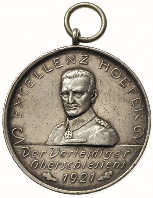 Głogówek, medal z uszkiem na 700-lecie miasta, Aw: Popi...