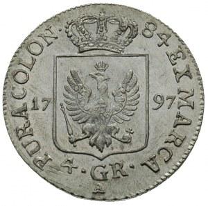Fryderyk Wilhelm 1797-1840, 4 grosze (1/6 talara) 1797 ...