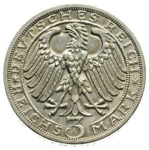 3 marki 1928 / A, Berlin, 900-lecie Naumburga, J.333