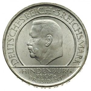 3 marki 1929 / A, Berlin, 10-lecie Przysięgi Weimarskie...