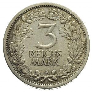 3 marki 1932 / A, Berlin, J.349, nieznaczne ślady czysz...