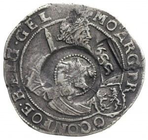 jefimok 1655, kontrasygnatura na talarze Geldrii z 1649...