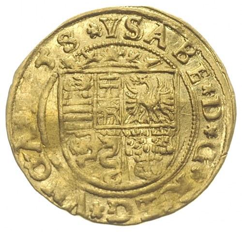 Jan II Zygmunt i Izabela 1556-1559, dukat 1558, Klausen...