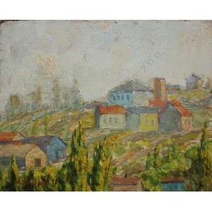 Zygmunt Landau (1898-1962), Pejzaż z południowej Francji