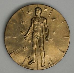 Igor Mitoraj (1944-2014), Medal ARTICULATIONS 1984 sygn.awers: MITORAJ