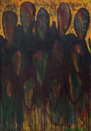 Bogdan KORCZOWSKI (ur. 1954), Obraz z serii: Przekraczając pustynię, 1999