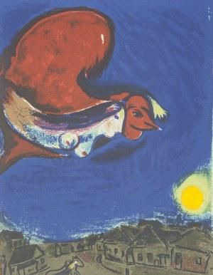 Marc CHAGALL (1887-1985) - według, Wioska nocą