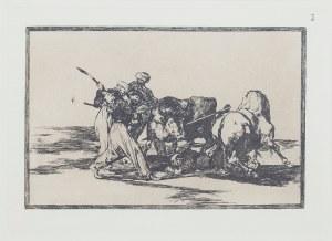 Francisco GOYA (1746-1828) – według, Plansza 3 – Maurowie osiedlający się w Hiszpanii