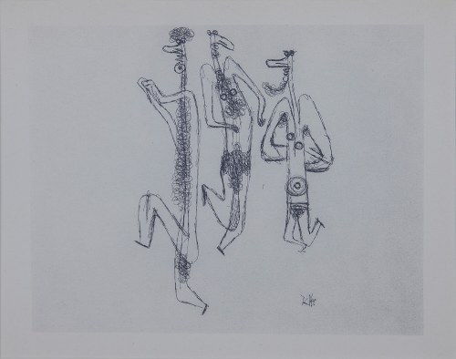 Paul KLEE (1879-1940) – według, Taniec satyra, 1945