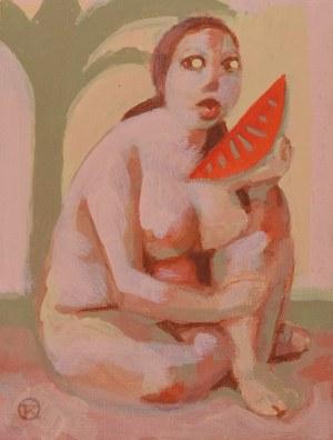 Tomasz KAZIKOWSKI (ur. 1952), Smak koloru czerwonego, 1994