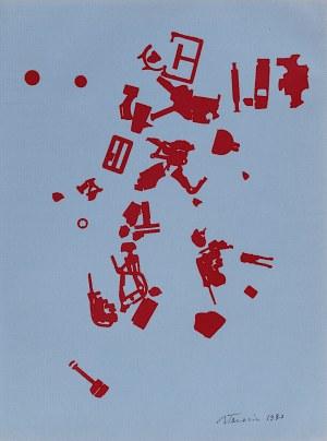 Jan Tarasin, Kompozycja, 1990