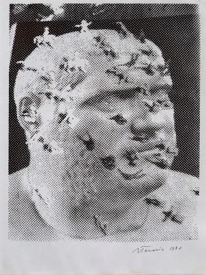 Jan Tarasin, Portret, 1990