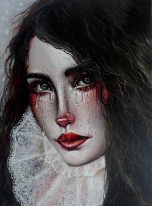 Marta Julia Piórko, Portret dziewczyny, 2018