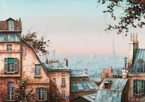 Stokfisz-Delarue Jan, Montmartre