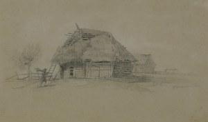 Gerson Wojciech, CHATA W OLSZTYNIE KOŁO CZĘSTOCHOWY, 1853