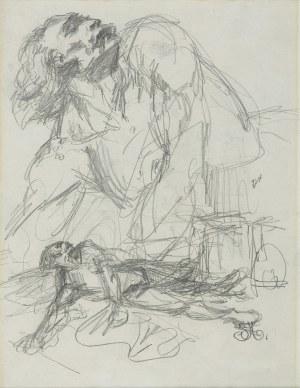 Matejko Jan, RYSUNEK DWUSTRONNY, 1860