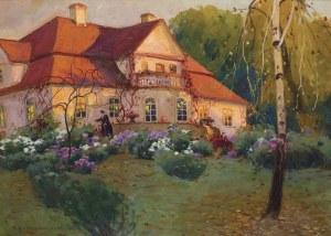 Rychter-Janowska Bronisława, W OGRODZIE