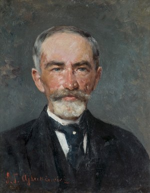 Ajdukiewicz Tadeusz, PORTRET ARCYKSIĘCIA KAROLA HABSBURGA, OK. 1910