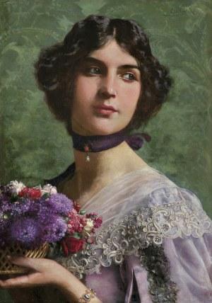 Czachórski Władysław, DZIEWCZYNA Z KWIATAMI, PO 1897