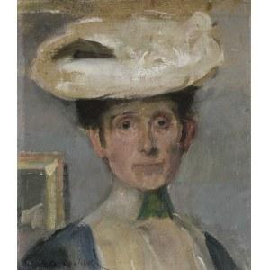 Boznańska Olga, AUTOPORTRET, OK. 1905