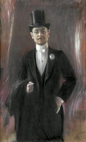 Axentowicz Teodor, PORTRET MĘSKI