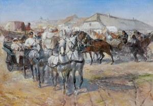 Kaczor Batowski Stanisław, NA JARMARKU, 1923