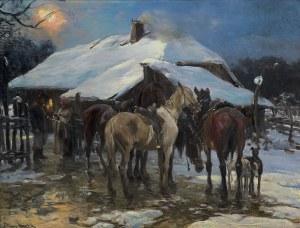 Wierusz-Kowalski Alfred, WIECZÓR, OK. 1900