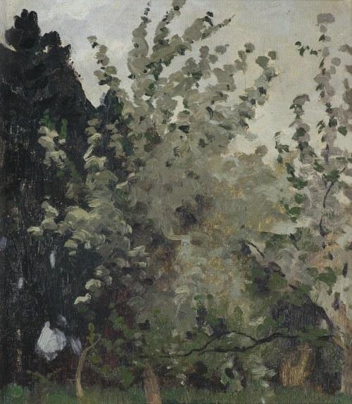 Ruszczyc Ferdynand, KWITNĄCE JABŁONIE, 1901