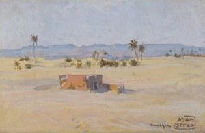 Styka Adam, OAZA OUARGLI, PRZED 1922