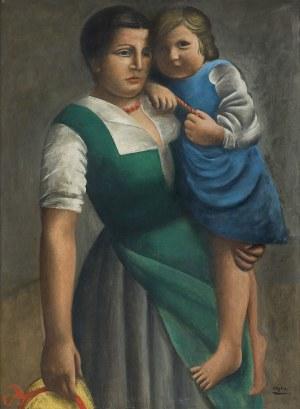 Hayden Henryk, KOBIETA Z DZIECKIEM, OK. 1922