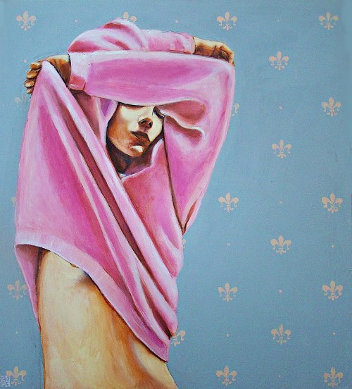 Renata Magda, Pink sweater, 2018