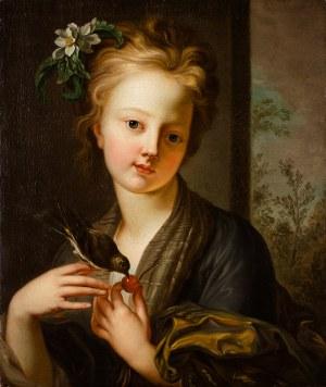 MN Francja lub Czechy (XVIII w.), Dziewczyna karmiąca wróbelka