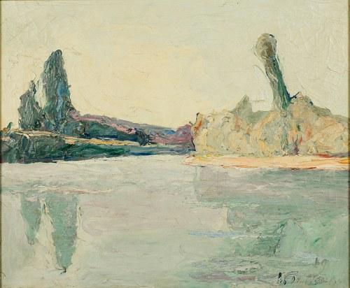 Włodzimierz Terlikowski (1873 wieś pod Warszawą - 1951 Paryż), Pejzaż, 1919 r.