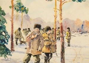 Stanisław Gibiński (1882 Rzeszów – 1971 Katowice), Nagonka przed polowaniem