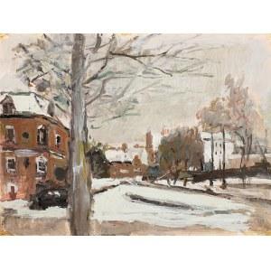 Magdalena Spasowicz (ur. 1927 r.), Pejzaż miejski zimą, 1976 r.