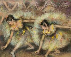 Marian Adamczyk (ur. 1938 r. Karczmiska), Tancerki, wg Edgara Degas