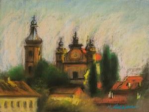 Marian Adamczyk (ur. 1938 r. Karczmiska), Katedra w Pińsku