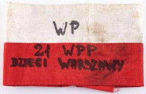 """OPASKA NARAMIENNA, 21 Warszawski Pułk Piechoty """"Dzieci Warszawy"""""""