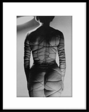 Zdzisław Beksiński - Gorset sadysty 1958, fotografia artystyczna.
