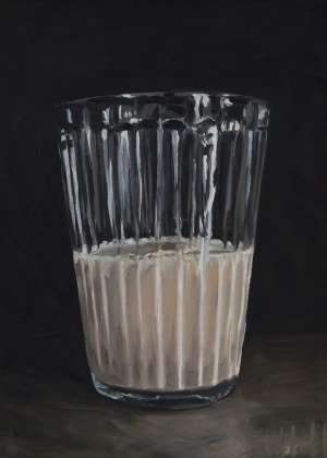 Szymon Kurpiewski, A Glass of milk, 2019
