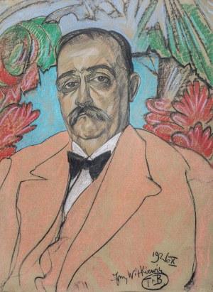 Stanisław I. Witkiewicz (1885 Warszawa - 1939 Jeziory na Polesiu), Portret mężczyzny, X 1926 r.