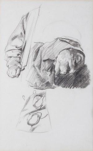 Józef Mehoffer (1869 Ropczyce k. Lwowa - 1946 Wadowice), Studium dłoni