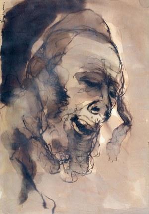Emanuel Katz (zw. Mané-Katz) (1894 Krzemieńczuk – 1962 Tel Awiw), Głowa Żyda