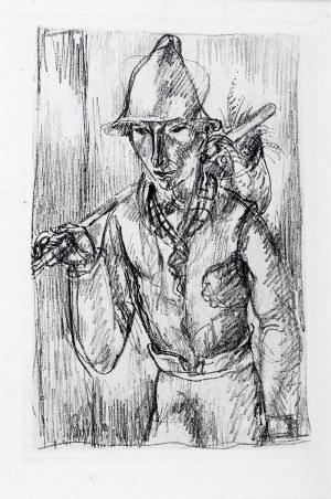 Eugeniusz Zak (1884 Mogilno – 1926 Paryż), Wędrowiec