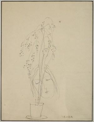 Zygmunt Menkes (1896 Lwów - 1986 Riverdale), Twarz dziewczyny