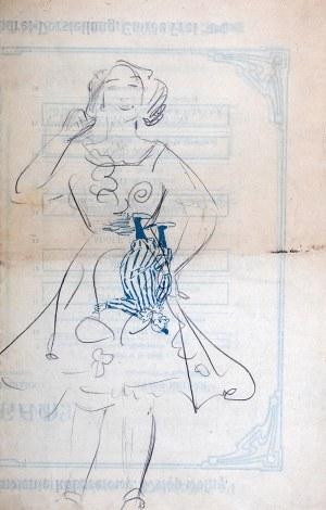 Wlastimil Hofman (1881 Praga - 1970 Szklarska Poręba), Postać śmiejącej się dziewczyny, ok. 1908 r.