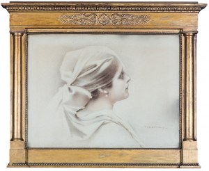 Piotr Stachiewicz (1858 Nowosiółki/Podole - 1938 Kraków), Popiersie kobiety